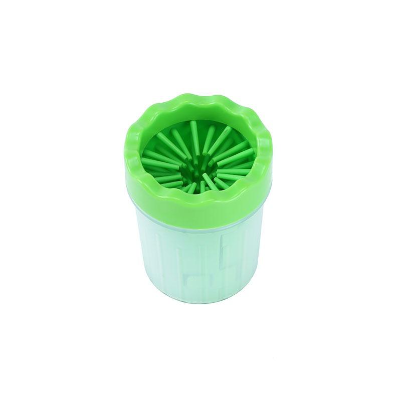 καθαρισμός πατούσας σκύλου - πράσινο