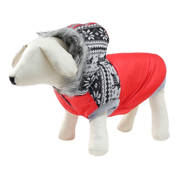 μπουφάν για σκύλους κόκκινο