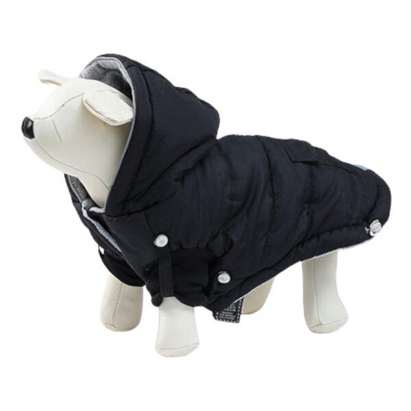 μπουφάν για σκύλους μαύρο