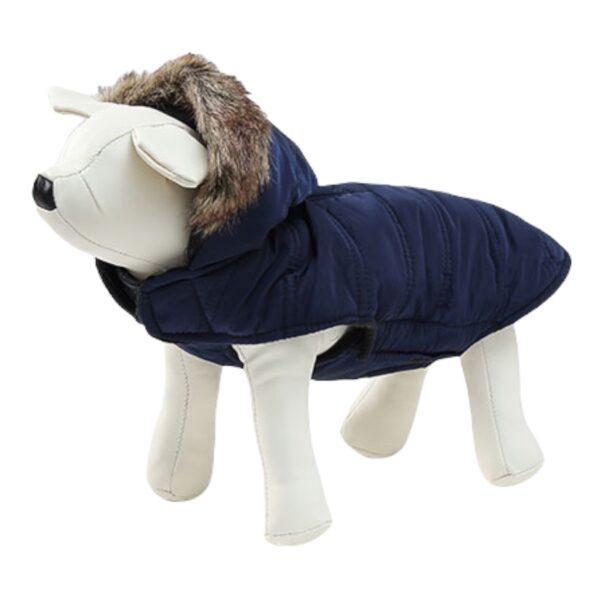 μπουφάν για σκύλους σκούρο μπλε