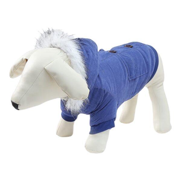 μπουφάν για σκύλους μπλε