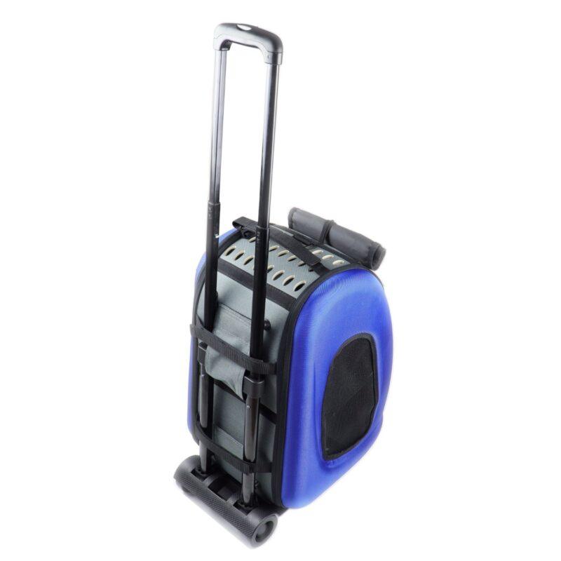 τσάντα μεταφοράς κατοικιδίου με ρόδες